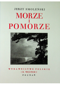 Morze i Pomorze Reprint
