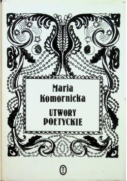 Komornicka Utwory poetyckie