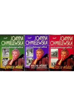 Chmielewska Autobiografia 3 tomy