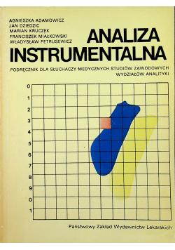 Analiza Instrumentalna
