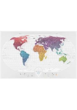 Mapa zdrapka - Travel Map Air World