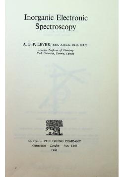 Inorganic Electronic Spectroscopy