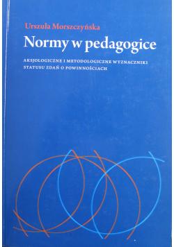 Normy w pedagogice