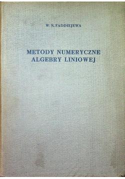 Metody numeryczne algebry liniowej