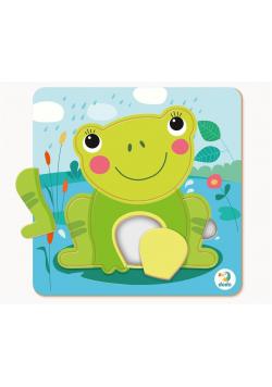 Puzzle 5 mini Żaba