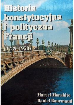 Historia konstytucyjna i polityczna Francji  1789 1958