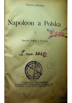 Napoleon a Polska tom I 1918r