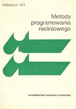 Metody programowania nieliniowego