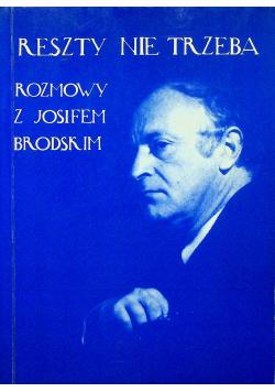 Rozmowy z Josifem Brodskim