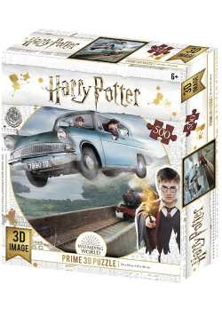 Harry Potter Magiczne puzzle Ford Anglia 500 elementów