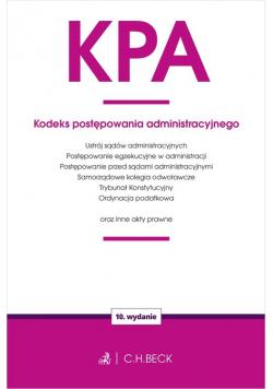 KPA Kodeks postępowania administracyjnego oraz ustawy towarzyszące