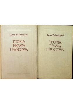 Teoria prawa i państwa w związku z teorią moralności tom I i II