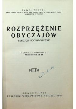 Prężenie obyczajów 1929 r.