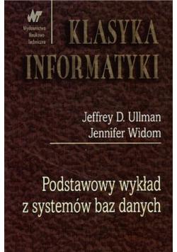 Klasyka informatyki Podstawowy wykład z systemów baz danych