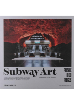 Puzzle 1000 Subway Art Fire
