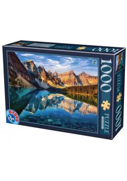 Puzzle 1000 Kanada, Jezioro Morine