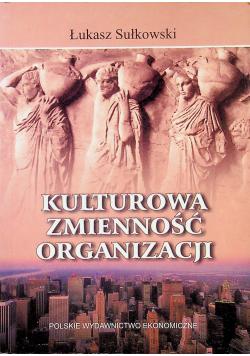 Kulturowa zmienność organizacji