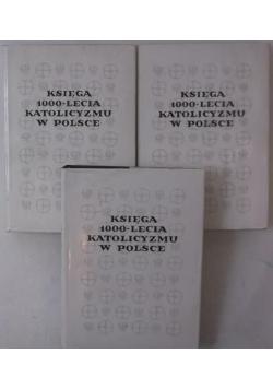 Księga 1000 lecia katolicyzmu w Polsce 3 tomy