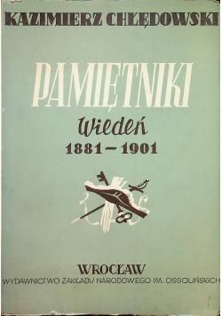 Chłędowski Pamiętniki Wiedeń 1881 - 1901