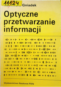 Optyczne przetwarzanie informacji