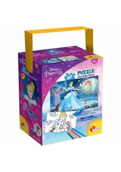 Puzzle mini 60 w tubie Księżniczki