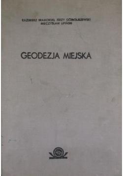 Geodezja miejska