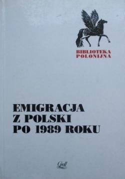 Emigracja z Polski po 1989 roku