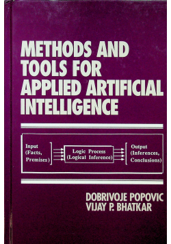 Methods tools for applied artificial intelligence