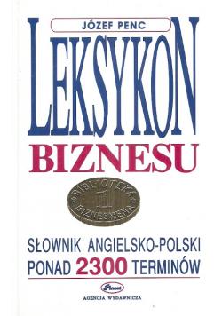 Leksykon biznesu Słownik angielsko polski