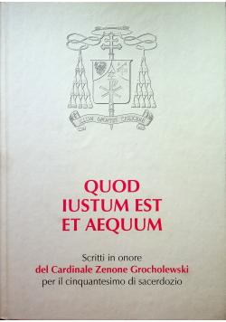 Quod Iustum Est Et Aequum