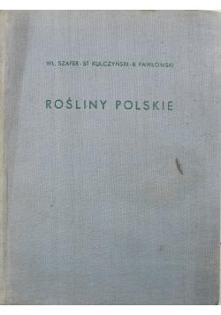 Rośliny Polskie tom 1