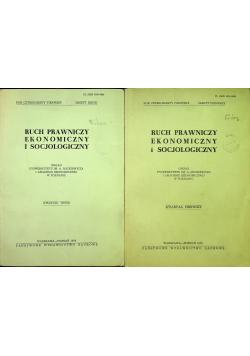 Ruch Prawniczy Ekonomiczny i socjologiczny tom I i II