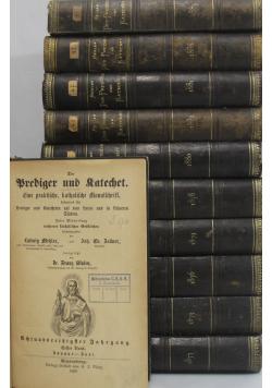 Der Prediger und Katechet 11 tomów około 1881r