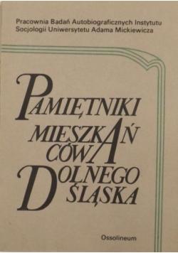 Pamiętniki mieszkańców Dolnego Śląska