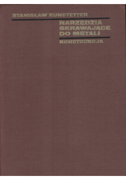 Narzędzia skrawające do metali