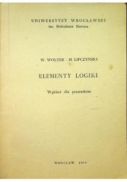 Elementy logiki wykład dla prawników