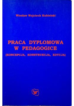 Praca dyplomowa w pedagogice