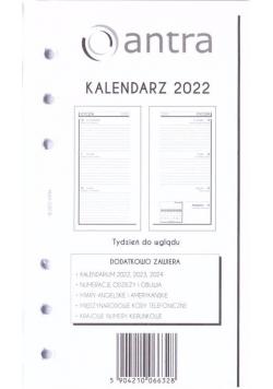 Kalendarz 2022 wkład B6 ST/TDW