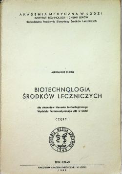Biotechnologia środków leczniczych