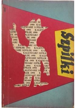 Kalendarz Szpilek 1958