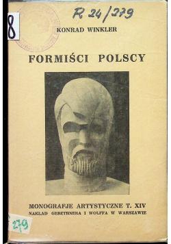 Formiści polscy 1927 r