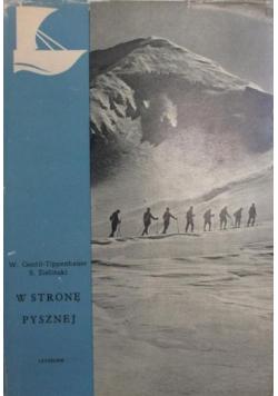 W stronę pysznej Tatry narty i ludzie
