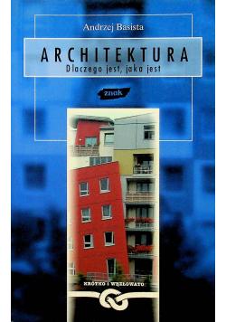 Architektura Dlaczego jest jaka jest