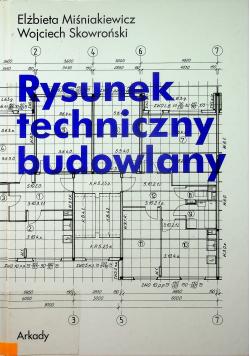 Rysunek techniczny budowlany
