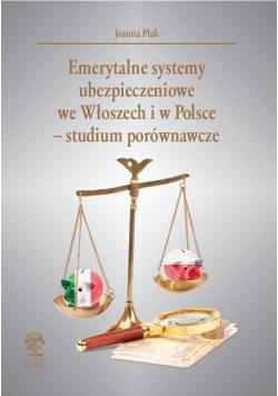 Emerytalne systemy ubezpieczeniowe we Włoszech i w Polsce