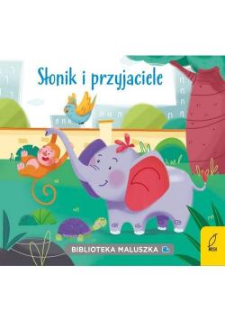 Biblioteka maluszka Słonik i przyjaciele