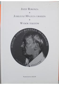 Jubileusz 80 lecia wybór tekstów