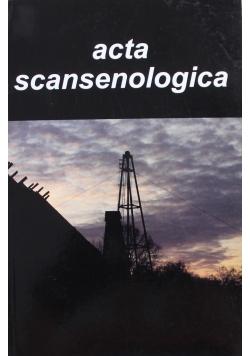 ACTA SCANSENOLOGICA tom 9