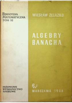 Algebry Banacha