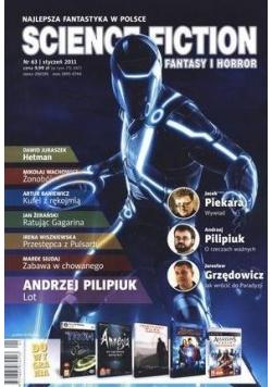 Science Fiction. Fantasy i Horror. Nr 63
